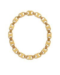 Tory Burch | Metallic Gemini Link Necklace | Lyst