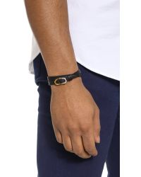 Want Les Essentiels De La Vie | Black Arlanda Reversible Ring Bracelet for Men | Lyst
