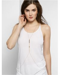 BaubleBar | Metallic Fishtail Body Necklace | Lyst