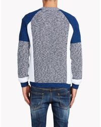 DSquared² - Blue Pullover for Men - Lyst