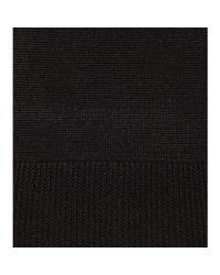 Nina Ricci Black Embellished Silk Sweater