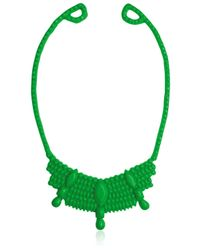 Mariah Rovery | Green Colar Rainha Necklace | Lyst