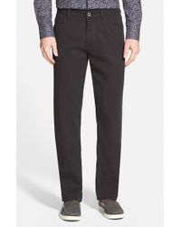 Tommy Bahama - Black 'collins' Straight Leg Pants for Men - Lyst