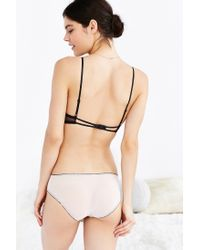 Urban Outfitters | Black Madeline Mesh Lace Mix Hipster | Lyst