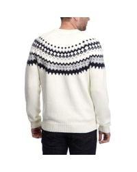Henri Lloyd   Natural Fallgate Regular Crew Knit for Men   Lyst