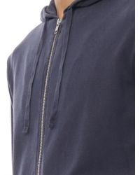 American Vintage - Blue Bryant Hooded Sweatshirt for Men - Lyst