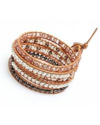 Nakamol | Multicolor Crucible Wrap Bracelet-brown | Lyst