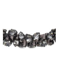 John & Pearl | Metallic Atom Necklace | Lyst