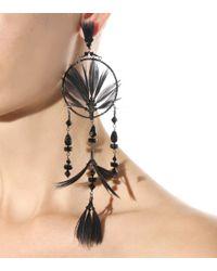 Valentino   Metallic Dream Catcher Embellished Earrings   Lyst