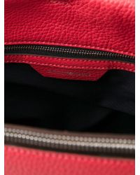 Emporio Armani - Pink Leather Shoulder Bag - Lyst