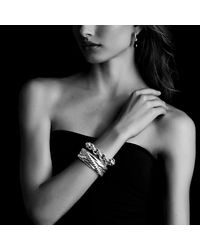 David Yurman | Metallic Cable Classics Large Link Bracelet | Lyst