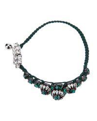 Shourouk | Green Baraka Rococo Smeraldo Bracelet | Lyst