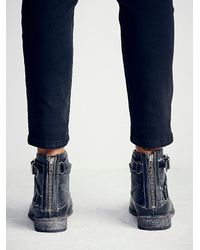 Free People - Black Faryl Robin + Womens Meray Lace Up Boot - Lyst