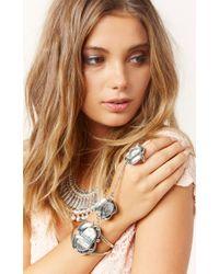 Natalie B. Jewelry | Green Two Raven Slave Bracelet | Lyst
