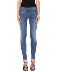 Hudson Jeans | Blue Denim Trousers | Lyst