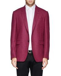 Paul Smith - Purple Herringbone Weave Blazer for Men - Lyst