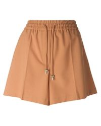 Acne Studios | Natural 'Elze Bistretch' Shorts | Lyst