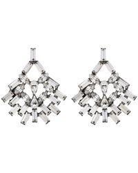 DANNIJO - Metallic Capelle Earrings - Lyst