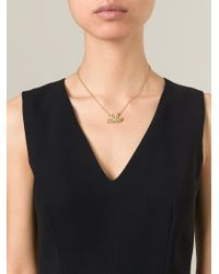 Marc By Marc Jacobs - Metallic 'I'M Bored' Necklace - Lyst