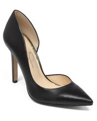 Jessica Simpson | Black Claudette Pumps | Lyst