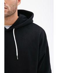 Forever 21 - Black Dolman Sleeve Hoodie for Men - Lyst