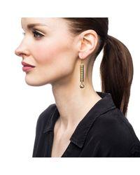 Lulu Frost - Metallic Hex Earring - Lyst