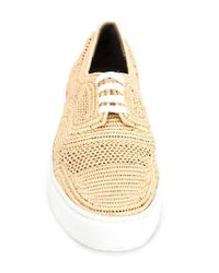 Robert Clergerie - Natural 'teba' Lace-up Shoes - Lyst