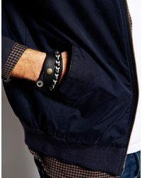 ASOS - Leather Bracelet Pack In All Black for Men - Lyst
