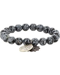 Miracle Icons | Black Double-charm Bracelet for Men | Lyst