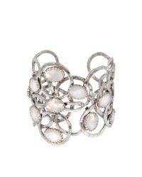 Gas Bijoux | Metallic Olympie Cabochons Bracelet | Lyst