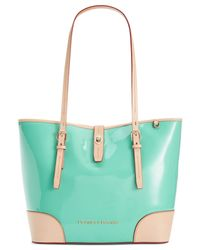 Dooney & Bourke | Green Claremont Patent Dover Tote | Lyst