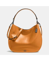 COACH | Natural Nomad Leather Hobo | Lyst
