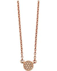 Astley Clarke | Pink 14ct Rose Gold Pendant With Grey Diamonds | Lyst