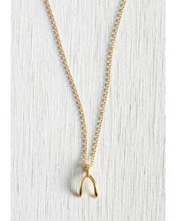 Dogeared - Metallic Wish All My Heart Necklace - Lyst