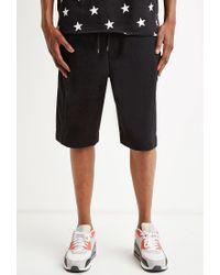 Forever 21   Black Zip-pocket Sweatshorts for Men   Lyst
