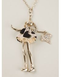 Servane Gaxotte - Metallic 'Rabbit Doll' Necklace - Lyst