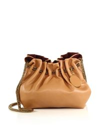 Stella McCartney - Brown Noma Small Faux Leather Bucket Bag - Lyst