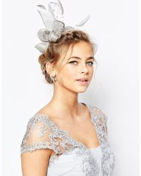 Coast - Metallic Pearl Bead Fascinator - Lyst