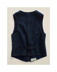 Ralph Lauren - Blue Devon Vest - Lyst