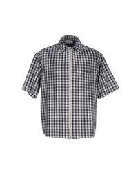 Umit Benan - Black Shirt for Men - Lyst