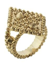 House of Harlow 1960 - Metallic Central Highlands Reflection Ring - Lyst