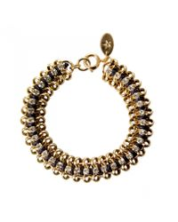 KG by Kurt Geiger | Metallic Channi Bracelet | Lyst