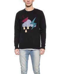 Han Kjobenhavn - Black Storm Crew Sweatshirt for Men - Lyst