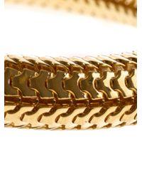 Gas Bijoux - Metallic Cobra Bangle - Lyst