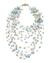 Giorgio Armani | Blue Necklace | Lyst