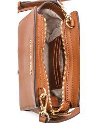MICHAEL Michael Kors - Brown Selma Mini Messenger Bag Luggage - Lyst