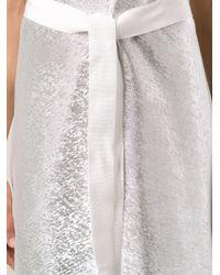 Maison Rabih Kayrouz - Metallic Dress - Lyst