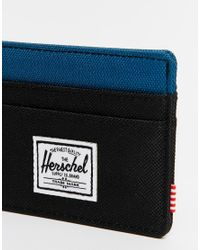 Herschel Supply Co. | Blue Charlie Card Holder for Men | Lyst