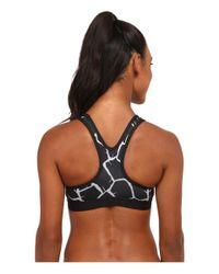Nike | Gray Dri-fit™ Pro Classic Padded Giraffe Bra | Lyst