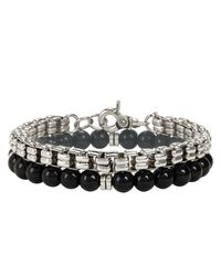 ALDO | Metallic Bracelet for Men | Lyst